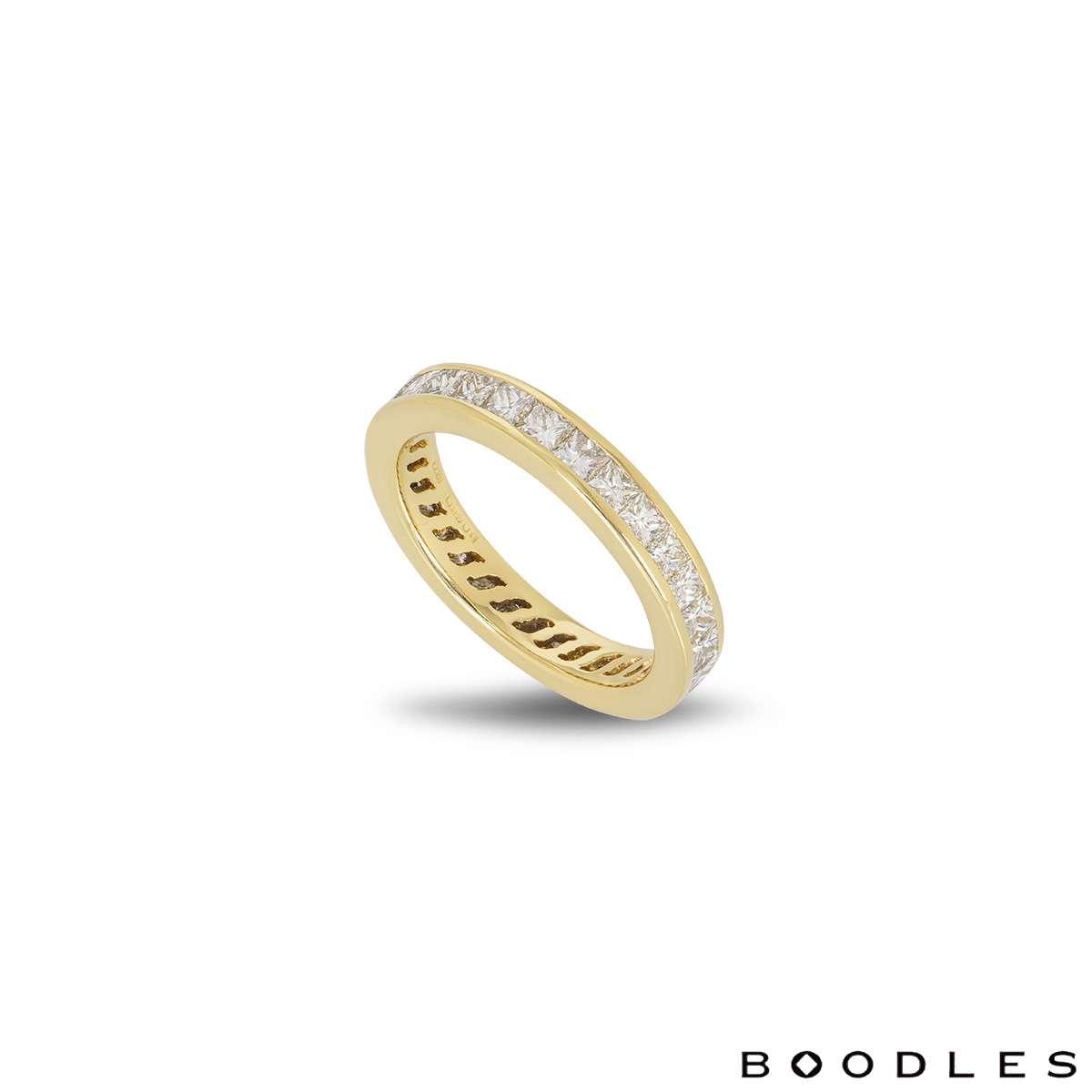 Boodles Yellow Gold Diamond Full Eternity Ring
